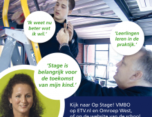 Op stage in het VMBO